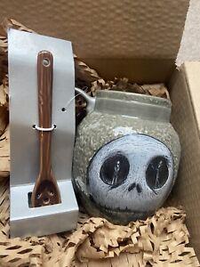 Jack Skellington Mug With Spoon Disney