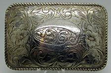 Sterling Silver Belt Buckle San Carlos Crumine Jewelers Santa Ana California