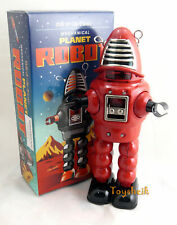 Schylling Collectors Series Planet Robot Red ms430 wind up Schylling 214952