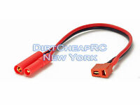 Charge Cable Adapter: Deans Female to HXT 4mm Redcat Male T-Plug 4.0mm LiPo Lead