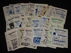 1957-1958 QUEEN ANNE MOVIE BROCHURES LOT OF 50 - BOGOTA, NEW JERSEY - J 5809