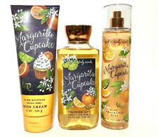 Bath Body Works MARGARITA CUPCAKE Ultra She Cream / Mist Spray / Shower Gel Set