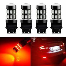 4x JDM ASTAR 3157 LED Brake/Tail/Rear Turn Signal Blinker Light Bulb Lamp 3K Red