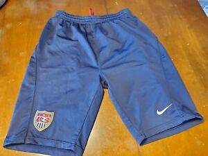 USMNT Nike Official Training Knee  Shorts Worn By Players size S or M