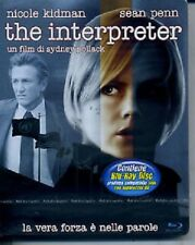 The Interpreter Steelbook (stickerbook) (Blu Ray) Nicole Kidman - Sean Penn