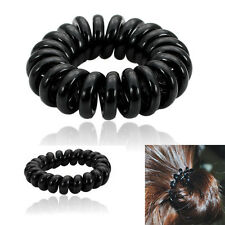 5pcs Girl Elastic Rubber Telephone lines Hair Band Tie Ring Rope Band Ponytail