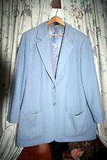 Winter- bzw. Herbst Jacke in bleu - blass blau, Gr. 52, Best Connections, Blazer