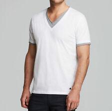 HUGO BOSS V Neck Casual Shirts & Tops for Men