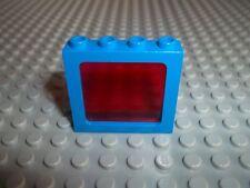 LEGO Scheibe Space Police 6781 rot trans. red Fenster Window Legoland SSPr