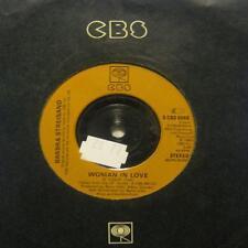 "Vinilo Barbra Streisand (7"") Mujer enamorada-CBS-CBS 8966-UK-en muy buena condición/en muy buena condición"