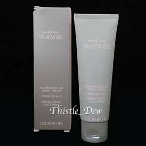 Mary Kay TIMEWISE Age Minimize 3D NIGHT CREAM Normal to Dry Skin 1.7 oz Non-SPF