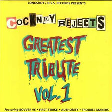 V/A A TRIBUTE TO THE COCKNEY REJECTS - GREATEST HITS Vol.1 NEU EP Skinhead Oi