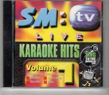 (HO152) SM:TV, Live Karaoke Hits Vol 1, 10 tracks - Sealed Replay CDG