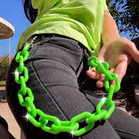 Punk 65cm Trousers Pants Hipster Chains Punk Street Unisex HipHop Jewelry G lsij