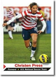 CHRISTEN PRESS 2013 SPORTS ILLUSTRATED U.S.A. SOCCER CARD! WORLD CUP CHAMPION!