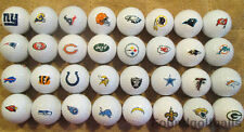 ALL 32 (NFL TEAMS Logo Complete Set) Callaway Mix MINT/AAAAA USED Golf Balls