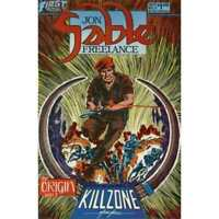 Jon Sable: Freelance #5 in Near Mint minus condition. First comics [*a1]