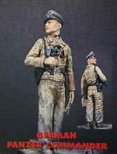 JAGUAR MODELS 61610 - GERMAN PANZER COMMANDER - 1/16 RESIN KIT