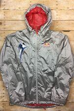 Puma x Red Bull Racing Team Full Zip Jacket Mens Medium Silver Hooded Official