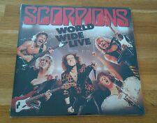 Scorpions World Wide Live 2015 USA 2LP Mercury Heavy Metal Classic Hard Rock
