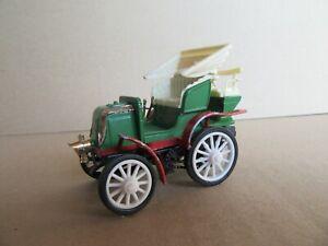 253M Safir 17 Francia Panhard 8 HP 1898 Verde Raro Delantal Blanco 1:43