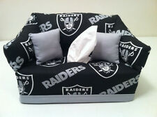 NFL Oakland Raiders Tissue Box Cover Handmade