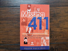 NEW! MISSING 411 DAVID PAULIDES WESTERN WEST US & CANADA PAPERBACK BOOK #1 BOOKS