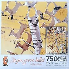 CEACO® ROBERT KERCHER • MORPHING IMAGES • ASPEN GROVE • 750pc Jig Saw PUZZLE