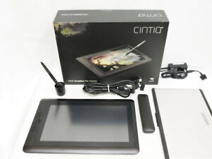 Wacom Cintiq 13HD DTK-1300 Interactive Pen Display w/ Accessories from JP FS