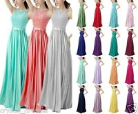 New Long Sexy Evening Party Ball Gowns Cocktail Formal Prom Bridesmaid Dresses