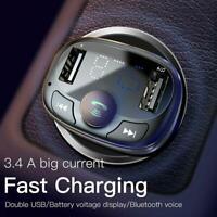 Wireless Bluetooth Car FM Transmitter MP3 Player USB Charger Handsfree d d d1 a
