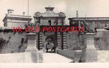 Malta -  MDINA,  Notable Gate, Real Photo