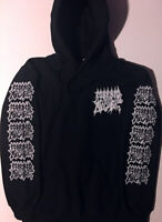 MORBID ANGEL Hoodie CANNIBAL CORPSE Immolation CARCASS Hooded sweatshirt S - XL