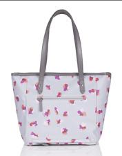 TWELVElittle Everyday Tote Plus Diaper Bag in Grey Floral, 190480300261