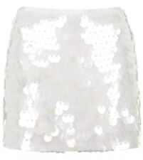 Topshop Petite Iridescent Sequin Skirt (15% Discount Limited Time Only)