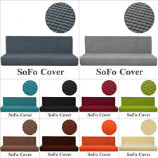 Waterproof Stretch Sofa Bed Cover Full Folding Armless Elastic Futon Slipcover