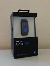 Samsung Gear Fit 2 SmartWatch L Large Schwarz NEU OVP