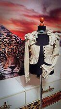 LIP SERVICE GR.XS-S  Damen  used Jacke Blusenjacke doppellagig-Women's jacket