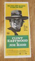 JOE KIDD ORIGINAL 1972 CINEMA DAYBILL FILM POSTER Clint Eastwood RARE WESTERN