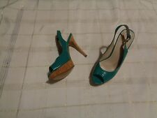 womens Nine West Big Spender Platform Pumps heels size 9