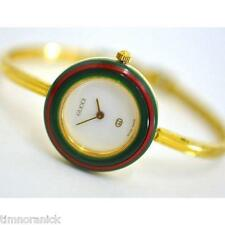 Authentic Gucci Watch Ladies Interchangeable Bezels 1100L 11/12.2 REGULAR Size