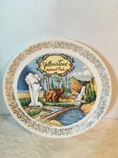 Vintage Yellow Stone National Park Souvenir Plate