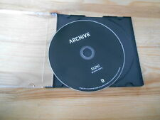 CD Indie Archive - Silent / Radio Edit (1 Song) Promo V2 COOP disc only