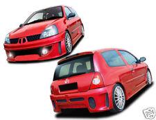 Kit estetico completo paraurti anteriore renault clio 2