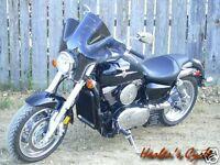 Honda VTX 1300 C/R/S VTX1300 - NEW S20T SMOKE TINTED STEALTH FAIRING/WINDSHIELD