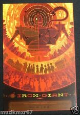 SDCC Comic Con 2012 EXCLUSIVE MONDO Iron Giant Promo / lobby card RARE HTF