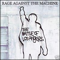 RAGE AGAINST THE MACHINE - BATTLE OF LOS ANGELES CD ( AUDIOSLAVE ) RATM *NEW*