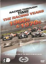 RACING THROUGH TIME THE RACING YEARS 1960s & 1970s - 3 DVD BOX SET CLASSIC F1