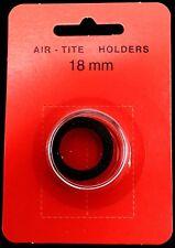 Model A Genuine Airtite Coin Capsule w18mm Black Ring for Dime 1/10oz Gold Panda