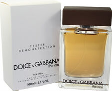 D&G THE ONE BY DOLCE & GABBANA TSTR 3.3/3.4 OZ EDT SPRAY  FOR MEN MEW TSTR